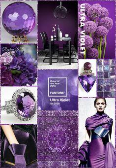 '' Ultra Violet- 2018 Pantone Color '' by Reyhan S.D