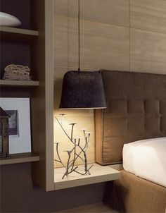 NIGHTSTAND LAMP HANGING FROM ROOF - http://whitetiles.info/nightstand-lamp-hanging-from-roof.html