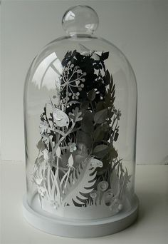 Paper sculpture by Helen Musselwhite