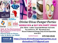 divine divas pamper parties win - Google Search