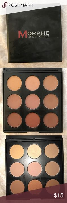 Morphed Brushes Palette Powder Palette! Hardly used!! morphe Makeup Blush