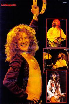 hot-in-the-shade:  Led Zeppelin Poster (Muziek Express Magazine, USA, 1977)