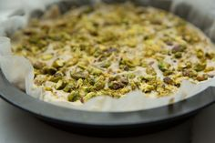 Lemon and Pistachio Raw Cheesecake | Move Nourish Believe
