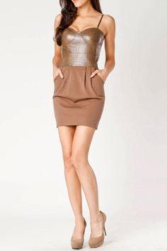Patent Leather Dress