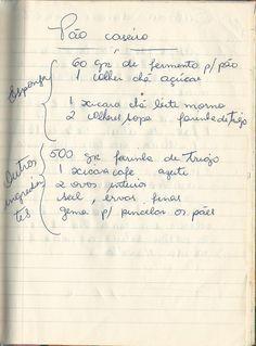 Fashion and Lifestyle Old Recipes, Vintage Recipes, Bread Recipes, Mango Salat, Croissant Recipe, Bon Appetit, Tortilla Recipe, Portuguese Recipes, Strudel
