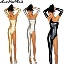 Womens Sexy Leather Latex Catsuit One Shoulder Single Leg Leotard Bodysuit Wet Look Pole Dancing Costume Exotic Clubwear Price history. Leather Bodysuit, Leather Jumpsuit, Wet Look, Spandex Bodysuit, Teddy Bodysuit, Latex Catsuit, Catsuit Costume, Women's One Piece Swimsuits, Dance Costumes