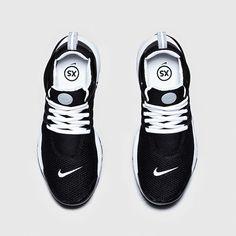Nike Air Presto QS-Black-Black-White-4