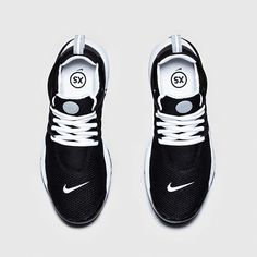 Nike Air Presto QS-Black-Black-White-4