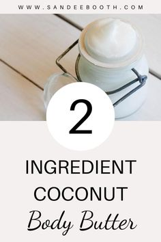 You only need 2 ingredients to whip up this natural beauty cream. You know exactly what's going into it and it smells amazing! #beauty #beautycream #DIYbeauty #allnatural Best Beauty Tips, Diy Beauty, Deep Conditioning Treatment, Beauty Cream, Eye Makeup Remover, 2 Ingredients, Body Butter, Melting Chocolate, Coconut Oil
