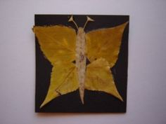 FALL ACTIVITIES FOR PRESCHOOLERS LEAF ART  BUTTERFLY