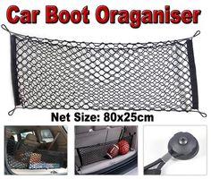 Universal Elasticated Nylon Car Trunk Boot Storage Luggage Organiser Cargo Net