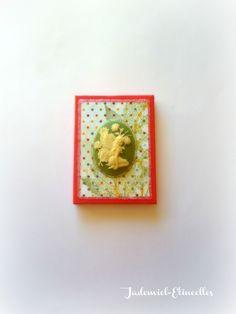 """Mini toile décorative série """" Songes de fleurs """" n°70 : Accessoires de maison par jademiel-etincelles"""