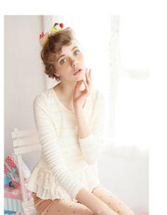 sweet joann top $45 #asianicandy #sweet #asianfashion #japanese #kawaii #indiefashion #lace