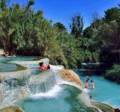 Terme di Saturnia Spa and Golf Resort, Poggio Murella, Italy — by Vaibhav Garg. Really wish to visit. *About* The 37.5 °C sulphurous spring water are well-known for their therapeutic properties,...