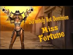 Definitely Not Dominion - Miss Fortune Miss Fortune, League Of Legends, Channel, Wonder Woman, Superhero, Videos, Youtube, Fictional Characters, Women