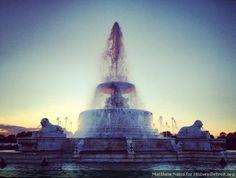James Scott Fountain on Belle Isle