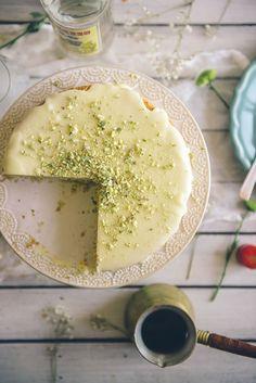 Orange, Ouzo and Pistachio Cake Recipe (Souvlaki For The Soul)