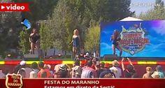 Bailarina Perde Roupa Em Direto No Palco Do Somos Portugal Da TVI