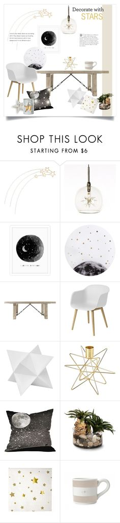 """""""Dining With The Stars"""" by rever-de-paris ❤ liked on Polyvore featuring interior, interiors, interior design, Zuhause, home decor, interior decorating, ET2, Lollipop, Muuto und Dot & Bo"""