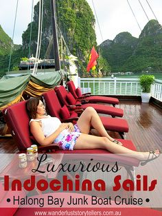 Because sometimes you need a trip that will take your breath away! Indochina Sails Junk Cruise did just that! Luxurious trip on amazing Halong Bay! Cruise Boat, Cruise Travel, Asia Travel, Cruise Tips, Bai Tu Long Bay, Ha Long Bay, Vietnam Travel Guide, Luxury Travel, Southeast Asia