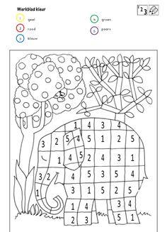 Actividades y ejercicios para infantil y primaria: pintar