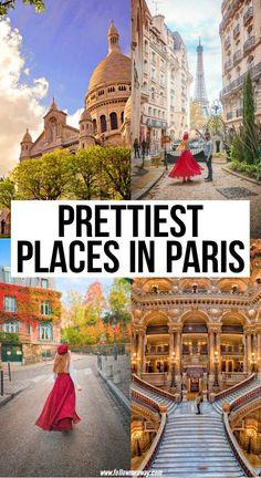 Prettiest Places In Paris