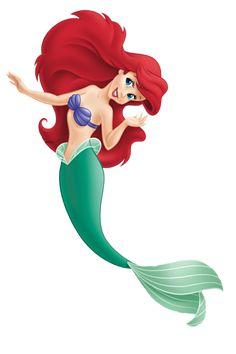 Ariel Disney, Disney Little Mermaids, Disney Pixar, Walt Disney, Disney Princess, Disney Characters, Ariel Mermaid, Ariel The Little Mermaid, Dibujos Baby Shower