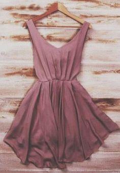 The Vogue Fashion: Smart Mauve Silk Mini Dress Mode Outfits, Fashion Outfits, Womens Fashion, Dress Fashion, Fashion Clothes, Hipster Outfits, Girl Fashion, Style Outfits, Purple Fashion