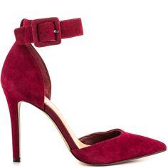 Cayna - Brava Red Suede Jessica Simpson $89.99