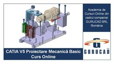Acest curs online, CATIA V5 Proiectare Mecanică Basic, are la bază modulele Infrastructure, Sketcher, Part Design, Assembly Design și Drafting din CATIA V5, acoperind atât partea de modelare 3D, cât și cea de 2D, și ajută studenții, inginerii și tehnicienii să devină specialiști în proiectarea pieselor mecanice și crearea datelor necesare în CATIA V5 pentru fabricarea pieselor mecanice. Prin urmare, acest curs se bazează pe experiență practică și nu pe pură teorie. Contacts Online, Audi, Bmw, Aerospace Engineering, Training Academy, Mechanical Design, Training Courses, Online Courses, Volkswagen