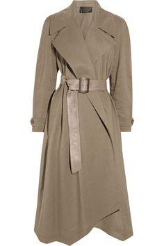 Wool + Linen Draped Beauty #fashion