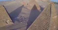 WATCH: Incredible drone footage of Sudan's mysterious Nubian pyramids - ScienceAlert