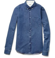 Acne jeans shirt