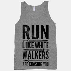 Run Like White Walkers Are Chasing You #awesome #snow