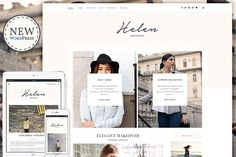 Helen - Responsive WordPress Theme by Themes Art on @creativemarket