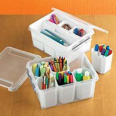 Kids Craft Organization On Pinterest Kids Storage