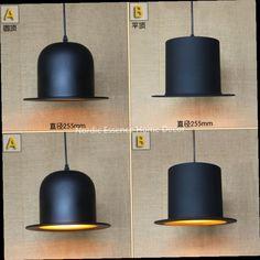 45.00$  Buy here - http://ali7w2.worldwells.pw/go.php?t=32489229577 - Nordic creative LOFT Minimalist modern creative new hat popular clothing store restaurant bar hotel art decor chandelier lamp