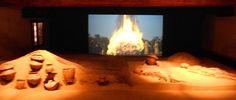 video in computer graphic su rito funerario a Frattesina. Museo Archeologico Nazionale, Barchesse della Villa Badoer età del bronzo: i materiali esposti, sicuramente tra i più considerevoli in ambito europeo, sono riconducibili ai villaggi che popolavano l'antico fiume Po tra il XII e il X secolo a.C.