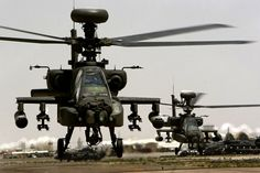 AH-64 Apache Longbow Helicopters