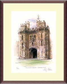 John O'Gaunts Gateway - Lancaster Castle