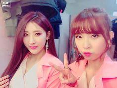 Nine Muses Hyuna & Hyemi