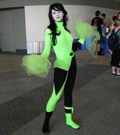 Shego (from Kim Possible) --sweet I LOVE THIS. I'm gonna have to go look up some episodes of that:D