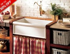 From farmhouse sinks to weathered wood storage, even the most serious city slickers are loving country kitchen style. Mix shades of cream and cognac with pops of yellow, sage, and lavender for a look that's relaxed and rustic. And cock-a-doodle-don't forget to finish off the look without mixing in a piece of on-trend rooster decor.