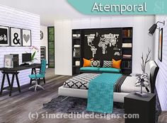 SIMcredible! Designs 4 | Bedrooms 1