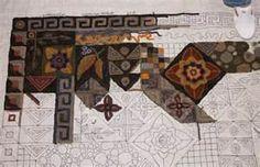 Image detail for -Gene's Rug Hooking Blog » Blog Archive » Same Pattern ...