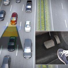 Traffic Jam Assist System, Ford, 2017, Traffic Jam, future transportation, traffic assist, future cars