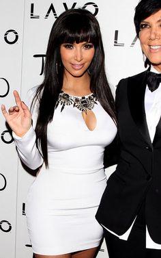 I got bangs like Kim :)
