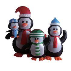 5 Foot Christmas Inflatable Penguins Family Yard Decoration BZB Goods http://www.amazon.com/dp/B00D9CKWVI/ref=cm_sw_r_pi_dp_mZZ-vb1MKXAAQ