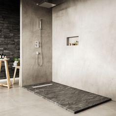 Plato de ducha Stone - Paleta de color en grises y negros - Bosnor : Bosnor