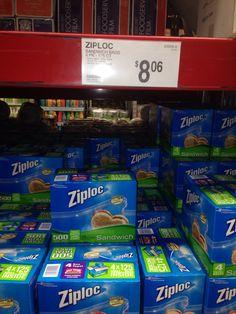 Ziplock Sandwich Bags